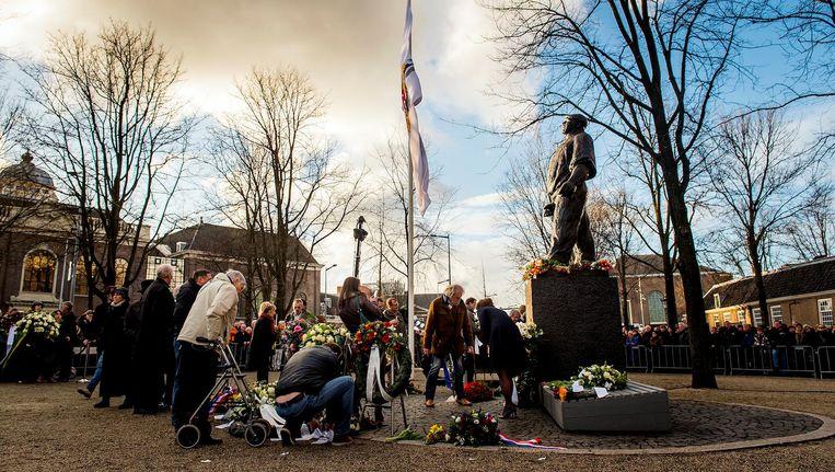 Zaterdag wordt voor de 76e keer de Februaristaking herdacht Beeld anp