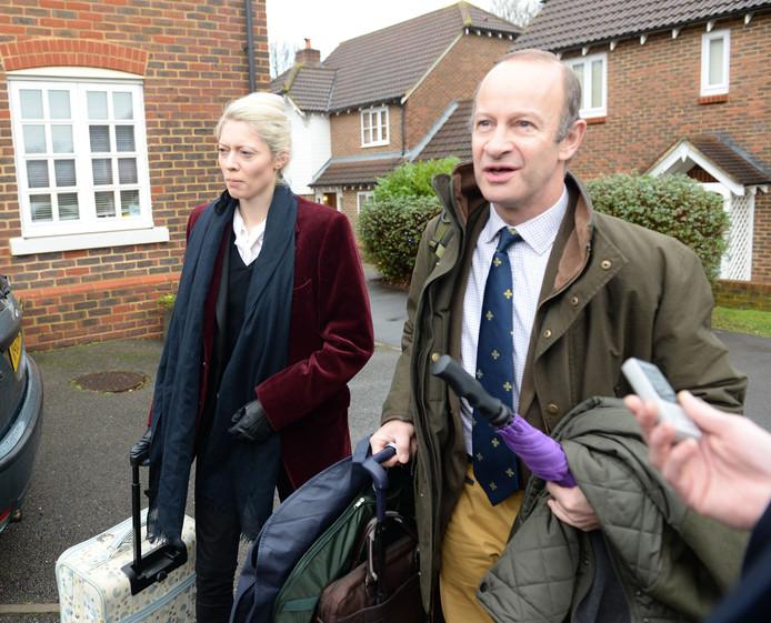 UKIP-leider Henry Bolton en zijn vriendin Jo Marney.