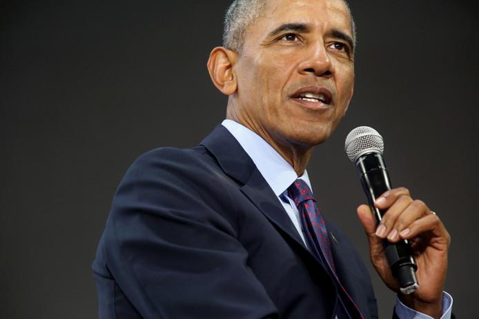 Oud-president Barack Obama.
