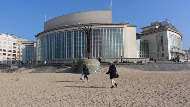 Het Casino Kursaal van Oostende waar de fuif dinsdagnacht plaatsvond.