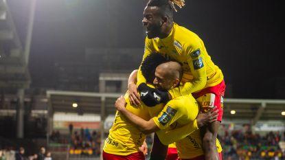 VIDEO. Eén puntje waar de twee ploegen blij mee zijn: Oostende zeker gered, W.-Beveren zo goed als