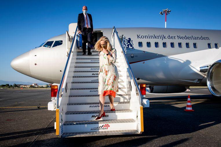 Sigrid Kaag lijkt vooral het populisme van Thierry Baudet en Geert Wilders te willen aanvallen. Beeld Hollandse Hoogte /  ANP