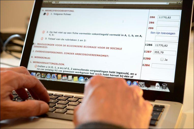 De deadline voor de elektronische aangiftes verstreek om middernacht. Het was langer duidelijk dat het aantal online aangiftes lager ging uitvallen dan vorig jaar, toen er meer dan 2,6 miljoen aangiftes waren vlak na het verlopen van de deadline.