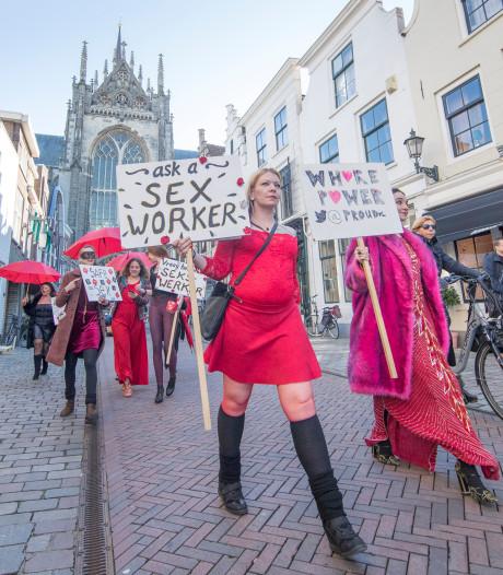 Sekswerkers paraderen door Goes: 'Wij hebben een beroep om trots op te zijn'