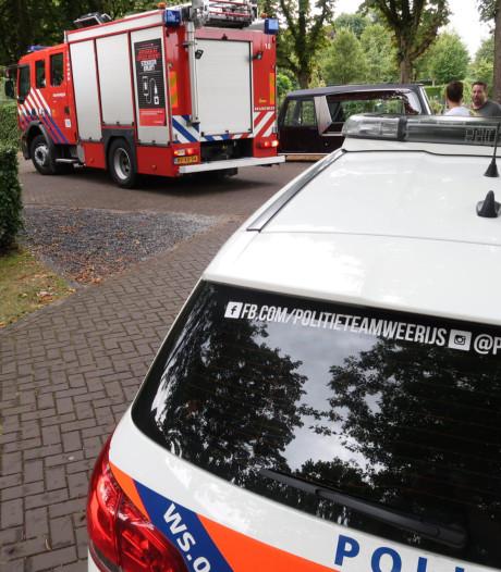 Brandweer rukt uit voor brandmelding bij uitvaartcentrum in Breda