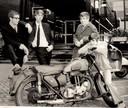 The Jerseys in 1967 (vlnr): Ad van het Hof, Peter de Graaf, Timo Brouns en Ben Brekelmans.
