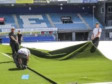 Waarom PEC Zwolle inmiddels een wonder nodig heeft om komend seizoen op natuurgras te spelen