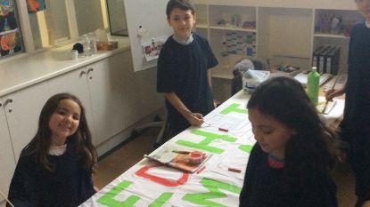 Basisschool 'Het Anker' organiseert miniklimaatmars in Knokke-Heist