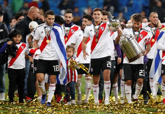 River Plate won op 9 december 2018 de Copa Libertadores, door in Madrid na verlenging met 3-1 te winnen van rivaal Boca Juniors.