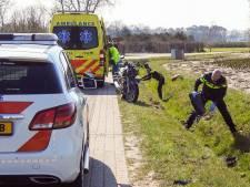 Motorrijder naar ziekenhuis na ongeluk bij Veldhoven