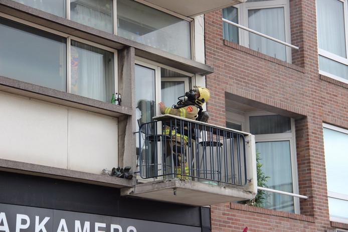 De brandweer kwam ter plaatse om de veiligheid te garanderen.