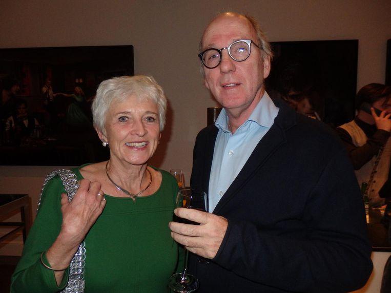 Oud-minister Jacqueline Cramer en haar partner, trendwatcher Carl Rohde Beeld Schuim