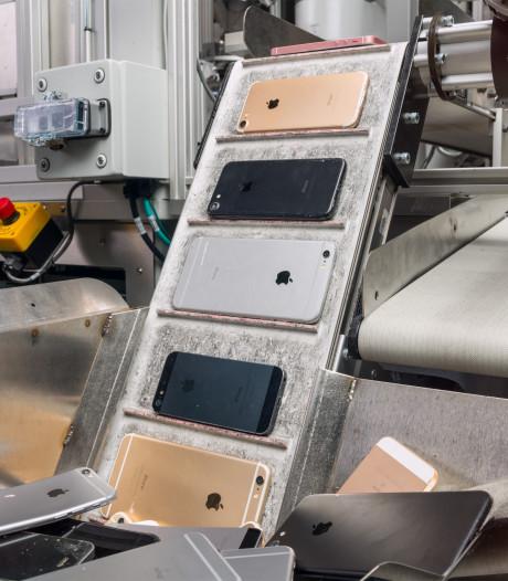 Apple's nieuwste kindje Daisy gaat iPhones slopen in Breda