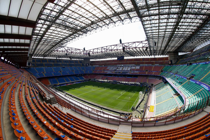 Stadio San Siro, Milan Stade  FOOTBALL : Ambiance - Real Madrid vs Atletico Madrid - Ligue des Champions - Finale - 27/05/2016 © PanoramiC / PHOTO NEWS PICTURES NOT INCLUDED IN THE CONTRACTS