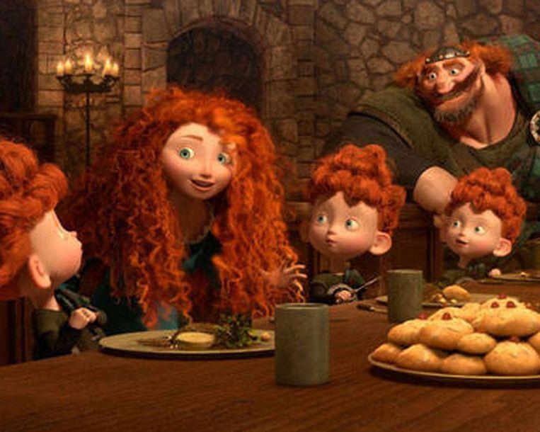 Scene uit de film Brave Beeld Pixar