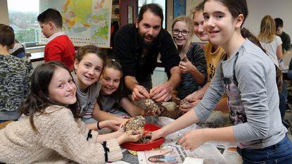 Zesde leerjaar doet mee aan Vogeltelweekend