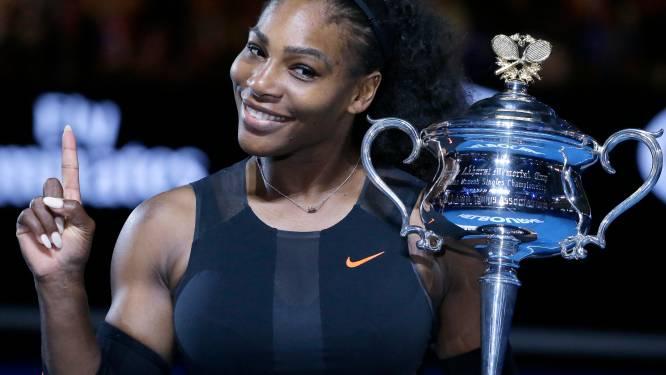 """Serena Williams: """"Per ongeluk laten weten dat ik zwanger ben"""""""