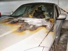 Auto in brand in ondergrondse parkeergarage Goirle