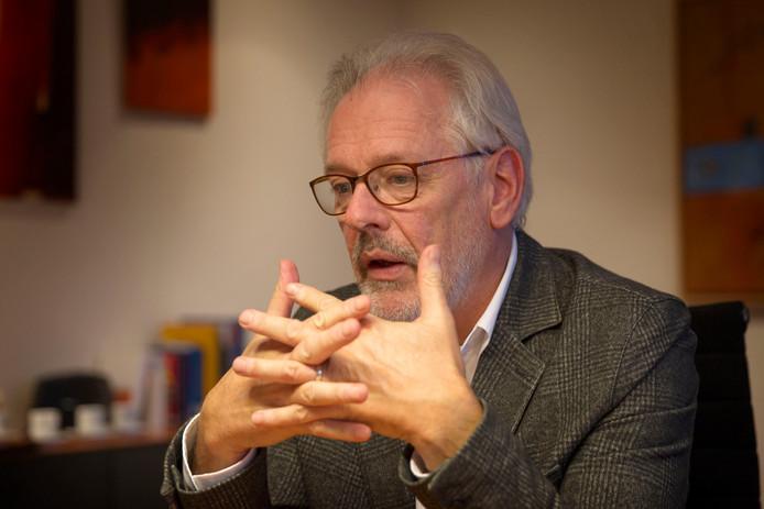 Burgemeester Hans Gaillard van Son en Breugel.