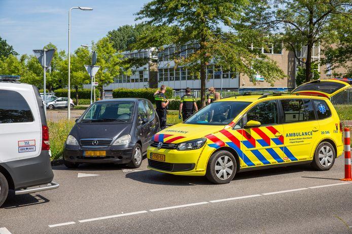 Fietser gewond door ongeluk in Roosendaal.