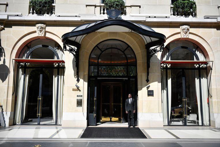 Het Parijse luxehotel Plaza Athénée.