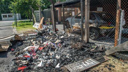 Geefkast voor goed doel uitgebrand: brand werd vermoedelijk aangestoken