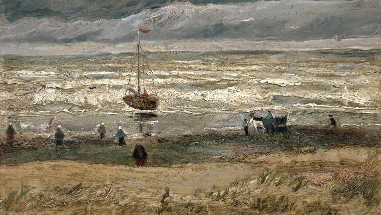 Zeegezicht bij Scheveningen (1882) Beeld Van Gogh Museum