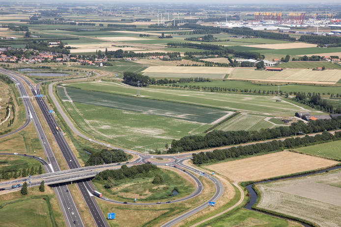 De Trekdijk bij Nieuw- en Sint Joosland