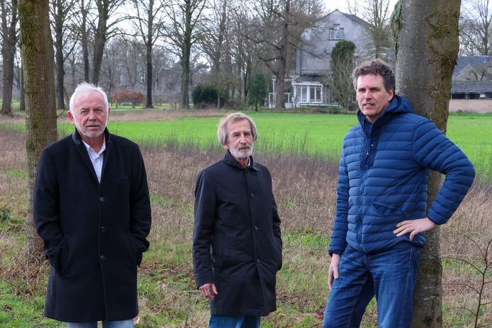 vlnr: Romano van der Meijden, Paul van der Vleuten en Richard de Visser.