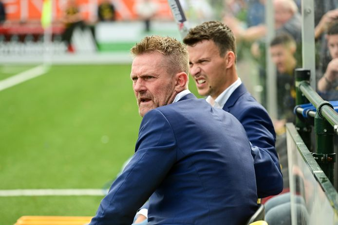 DVS'33-trainer Peter Wesselink verloor zaterdag van zijn oude club Excelsior'31 met 0-1.