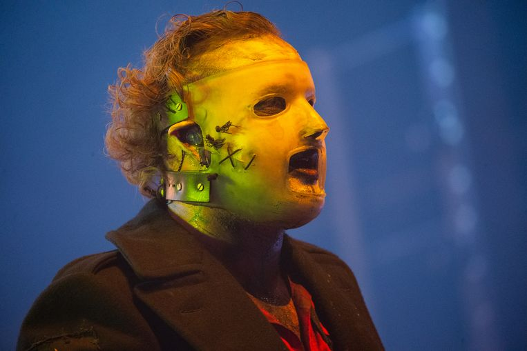 Zanger Corey Taylor van Slipknot. Beeld Hollandse Hoogte / Harold Versteeg