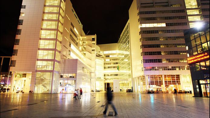 Het stadhuis van Den Haag aan het Spui.