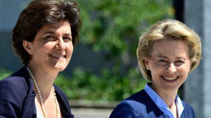 Kandidaat-eurocommissaris Sylvie Goulard verhoord door politie