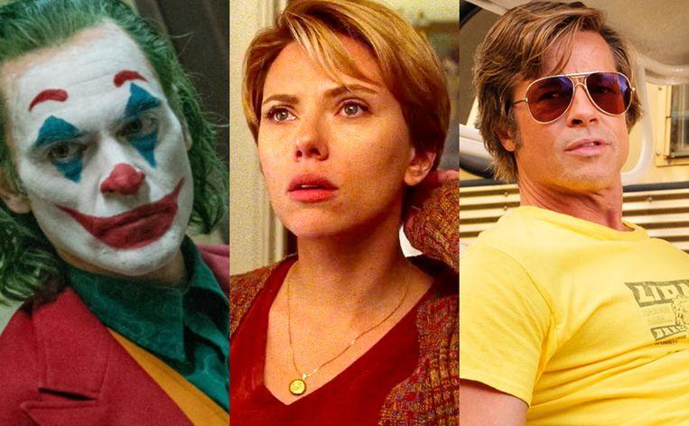 Joaquin Phoenix, Scarlett Johansson en Brad Pitt
