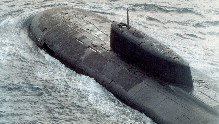 Een Russische kernonderzeeër. Beeld Wikipedia