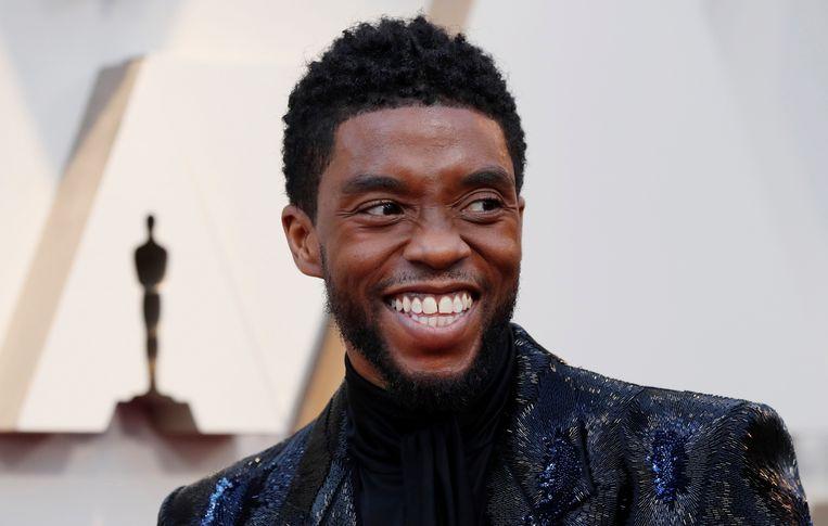 Chadwick Boseman in 2019. Beeld REUTERS