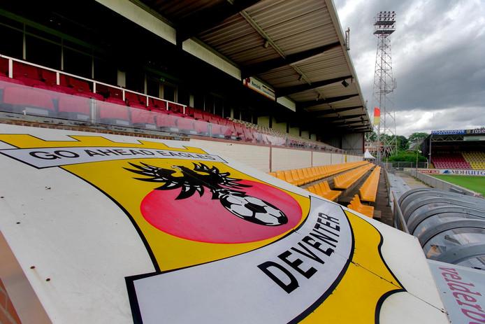 Eeen dagelijks geopende lunchroom bij voetbalstadion De Adelaarshorst in Deventer: dat feestje gaat niet door. De voetbalclub vroeg een vergunning aan voor uitbreiding van de horeca-activiteiten en de opening van een lunchroom, maar heeft geen concrete plannen voor een broodjeszaak.