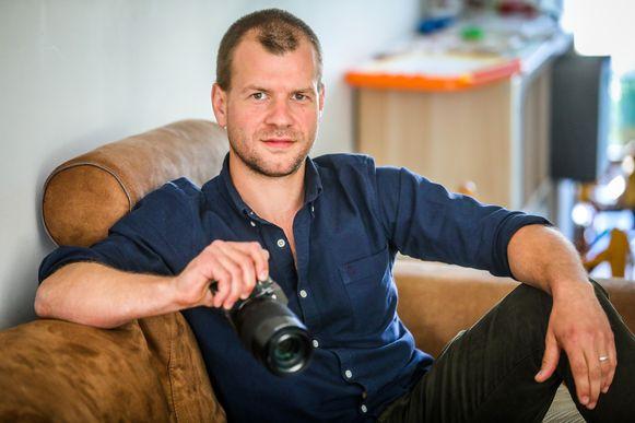 Naast chef-kok is Ben Eyckmans fotograaf in bijberoep.