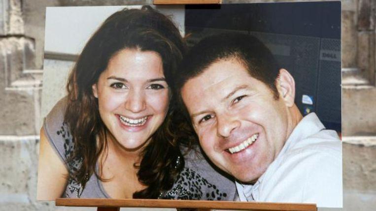 Slachtoffers Jessica Schneider en Jean-Baptiste Salvaing.