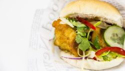 Streetfood bij je thuis: fish burger