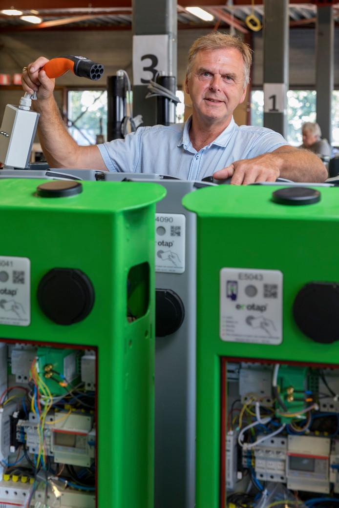 Kees van Bergen, oprichter en eigenaar van Ecotap in Boxtel.