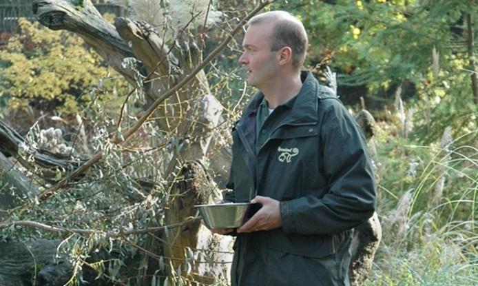 Apenheul-directeur Coen de Ruiter. uitsnede foto Apenheul