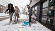 FOTO: De eerste winterprik in Limburg: sneeuw ruimen, verkeerschaos én fun bij asielcentrum