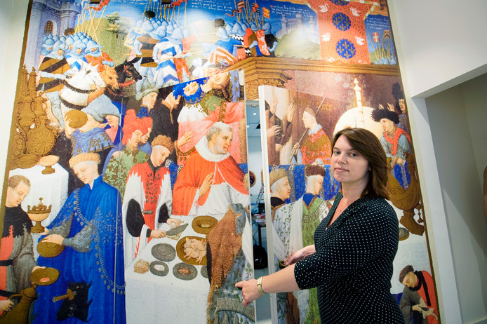 Zakelijk leider Rosalie Thomassen in Het Van Lymborchhuis aan de Burchtstraat, dat over twee weken opent.