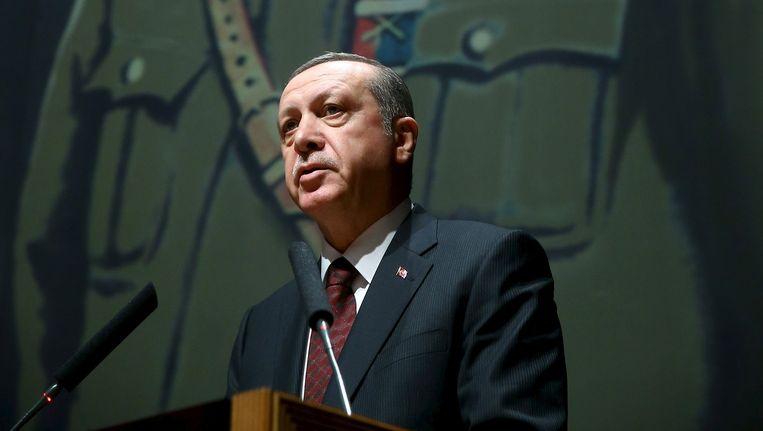 Recep Tayyip Erdogan. Beeld reuters