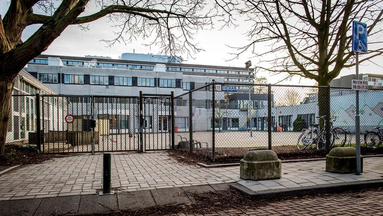 De Amsterdamse orthodox-joodse school Cheider. Beeld anp