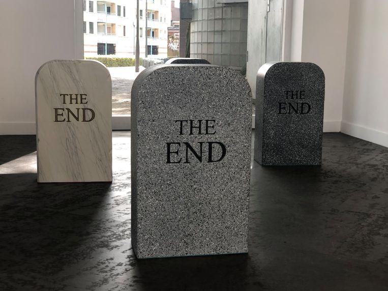 Maurizio Cattelan: The End (2014). Beeld Anna van Leeuwen