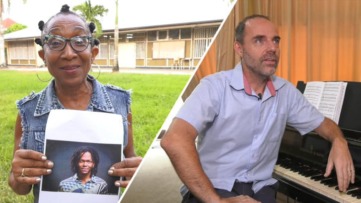 Jeangu Macrooy is ambassadeur voor conservatorium in Suriname