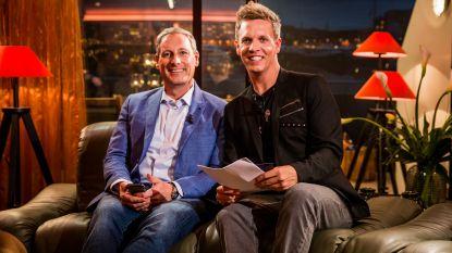 Gert en James maken zich op voor nieuw seizoen 'Gert Late Night'