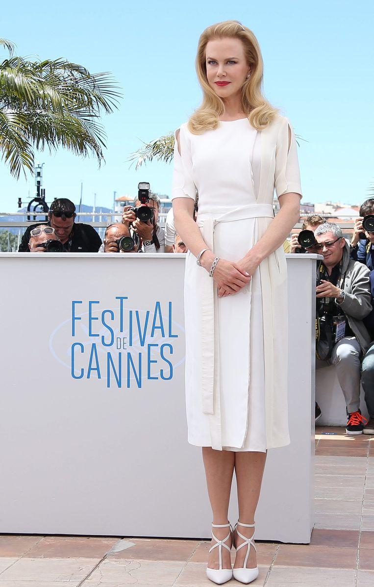 Actrice Nicole Kidman op het filmfestival in Cannes. Beeld epa